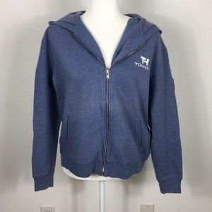 Tommy Hilfiger Blue Zip Up Sweatshirt